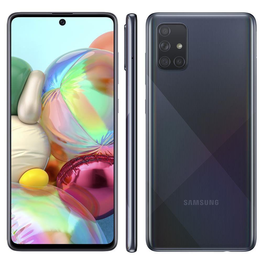Celular Samsung A71 128GB Preto