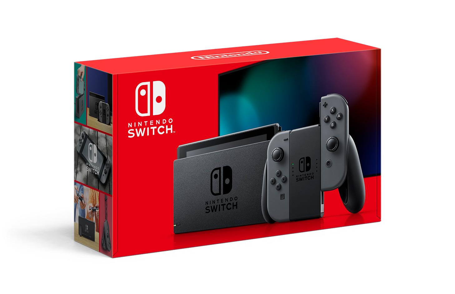 Console Nintendo Switch - Cinza