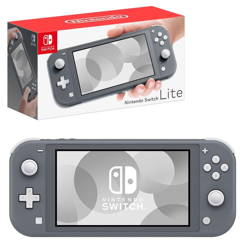 Console nintendo switch lite cinza
