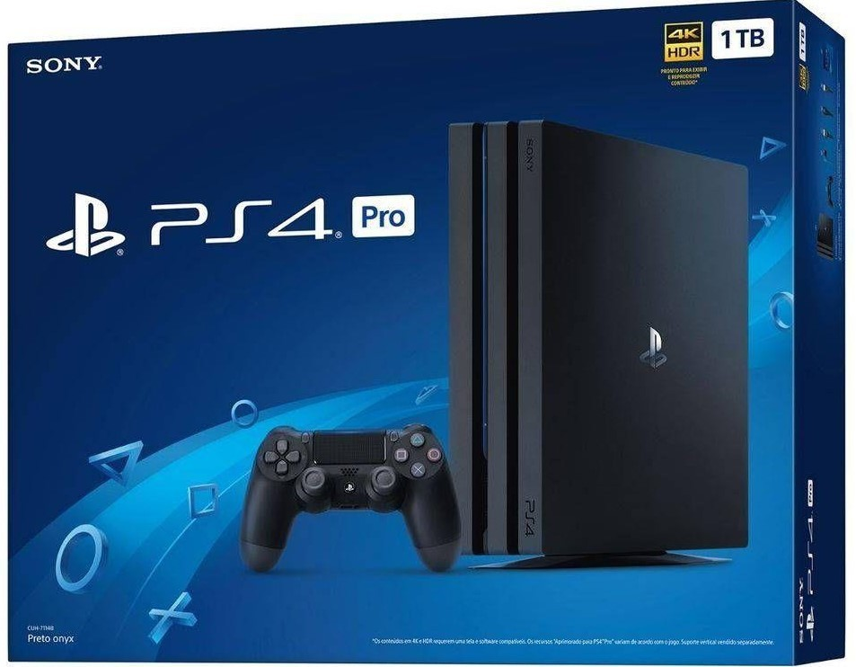 Console playstation 4 ps4 Pro 1tb 4k