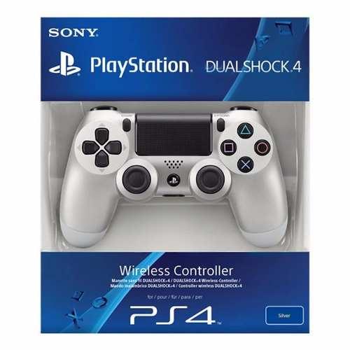 Controle Dualshock PS4 - Prata