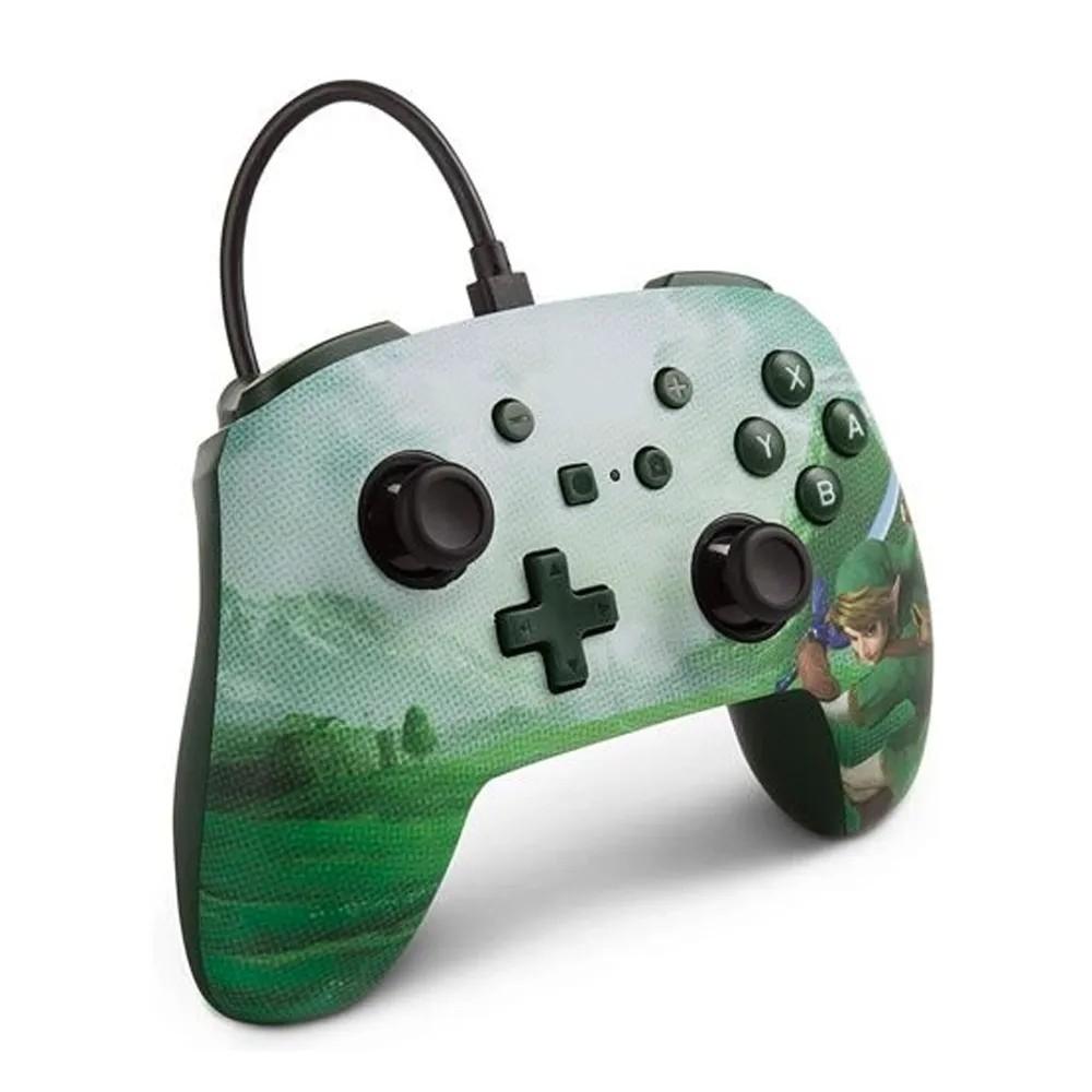 Controle Enhanced Wired/ Com Fio Controller Zelda Nintendo Switch - PowerA