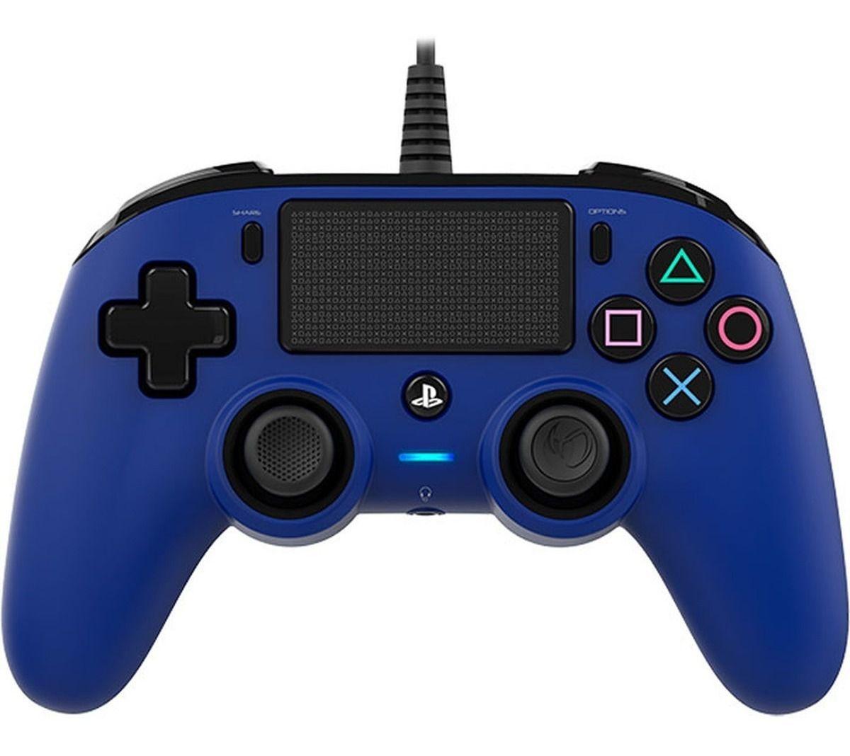 Controle Nacon Wired Azul PS4