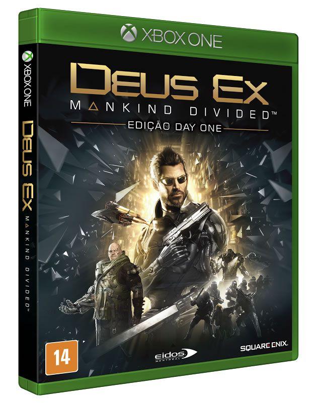 Deus EX Mankind Divided Xbox One