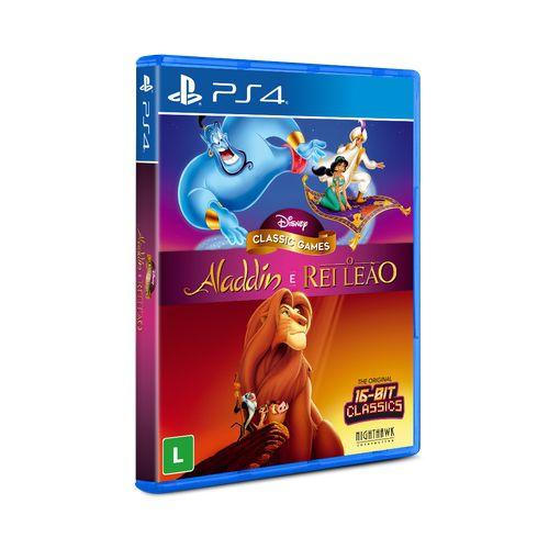 Disney Classics Aladdin e Rei Leão PS4
