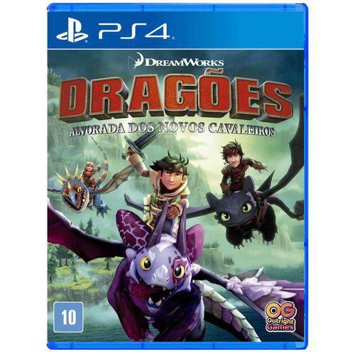 Dragões - Alvorada dos Novos Cavaleiros  PS4
