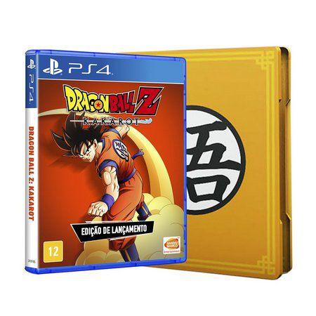 Dragon Ball Z: Kakarot - Edição Steelbook - PS4