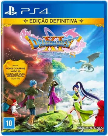 Dragon Quest  XI Echoes of an Elusive Age - Definitive Edition - PS4