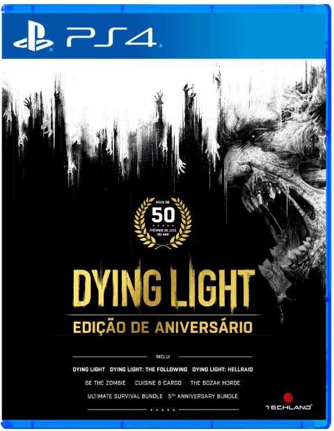Dying Light Edição de Aniversário - PS4