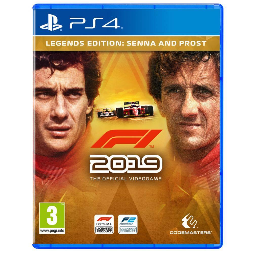 F1 2019 Legends  Edition Senna e Prost - PS4