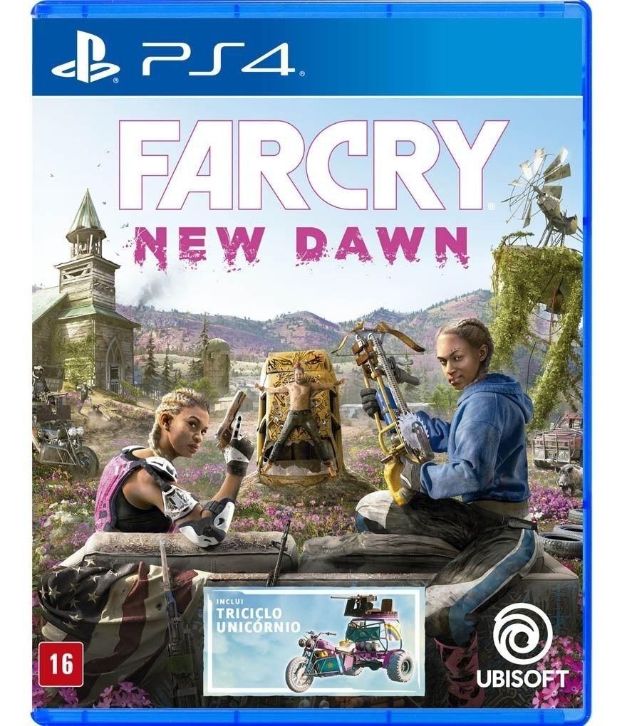 Far Cry New Dawn Edicão Limitada PS4