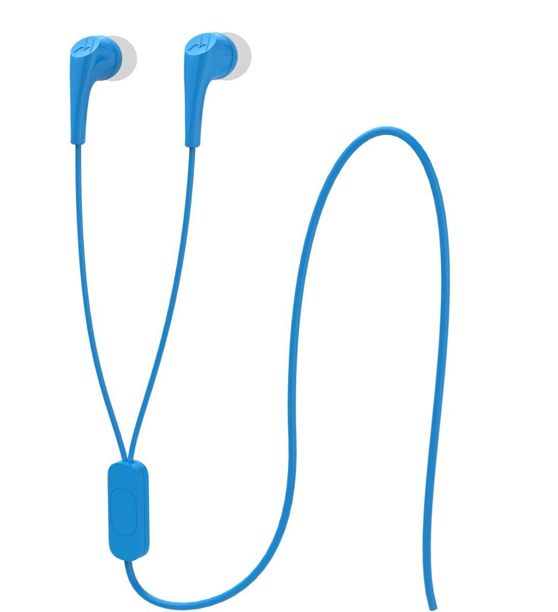 Fone de Ouvido Motorola SH006 Earbuds 2 Azul