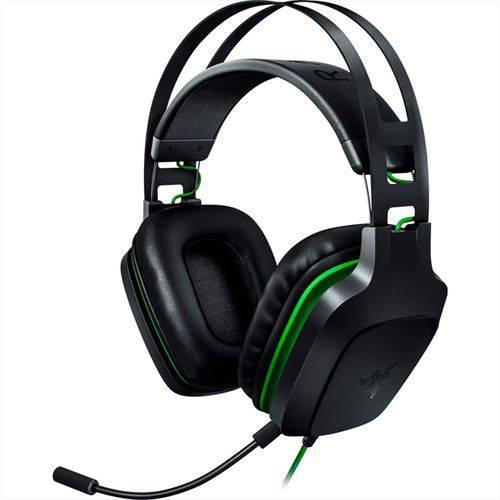 Headset gamer Electra V2 Razer preto/verde