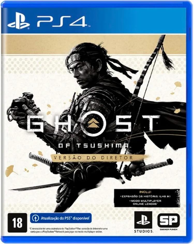 Ghost of tsushima - versão do diretor - ps4