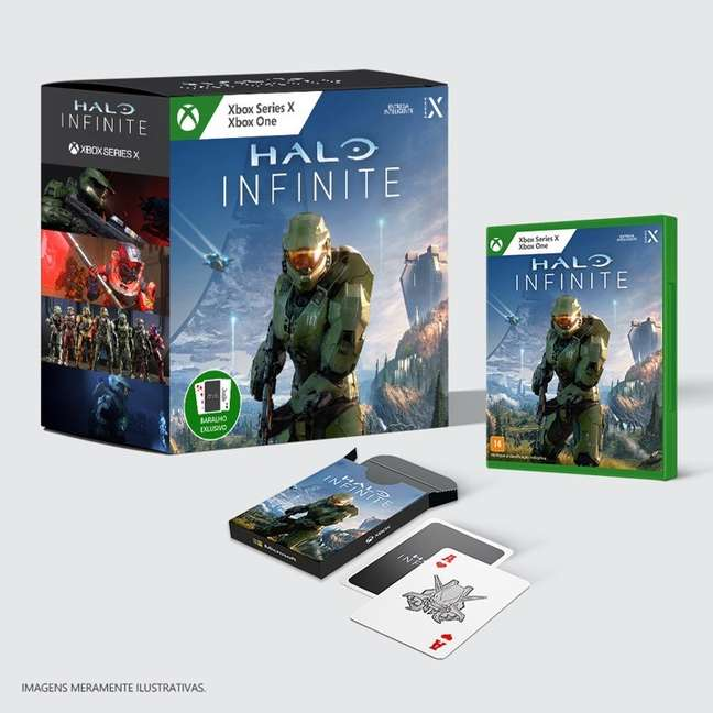 PRÉ-VENDA Halo Infinite - Edição Exclusivo - Xbox One/ Series S/X