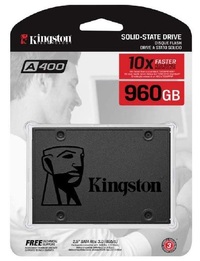 HD SSD Kingston sa400s37 960GB