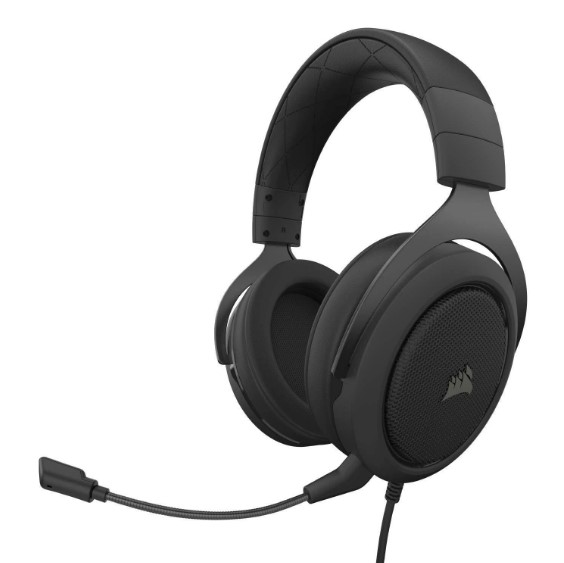 Headset corsair hs50 pro stereo CA-9011215-NA - carbon - ps4/pc/mac/mobile
