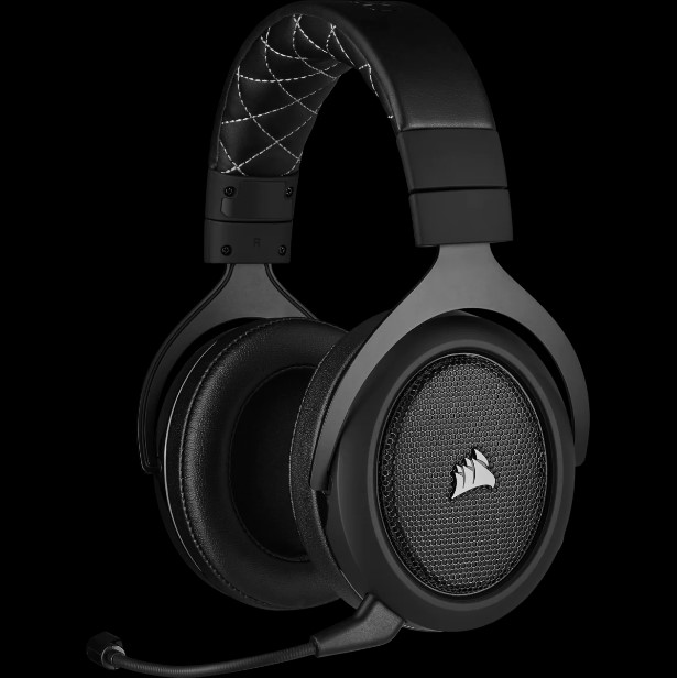 Headset corsair hs70 pro wireless 7.1 CA-9011211-NA - carbon - pc/ps4