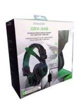 Headset gamer GRX 340 Dreamgear Xbox preto/verde