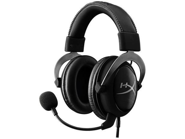 Headset Gamer Hyperx Cloud II KHX-HSPC-GM Preto e Cinza
