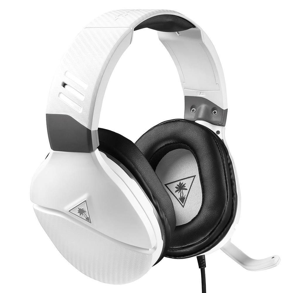 Headset Gamer Turtle Beach Recon  200 - Compatível com PC PS4 PS5 Xbox Nintendo Switch e Mobile - Branco - TBR200014