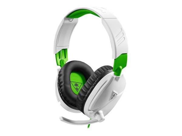 Headset Gamer Turtle Beach Recon 70X, Compatível com Xbox PS4 PC Nintendo Switch e Mobile - Branco