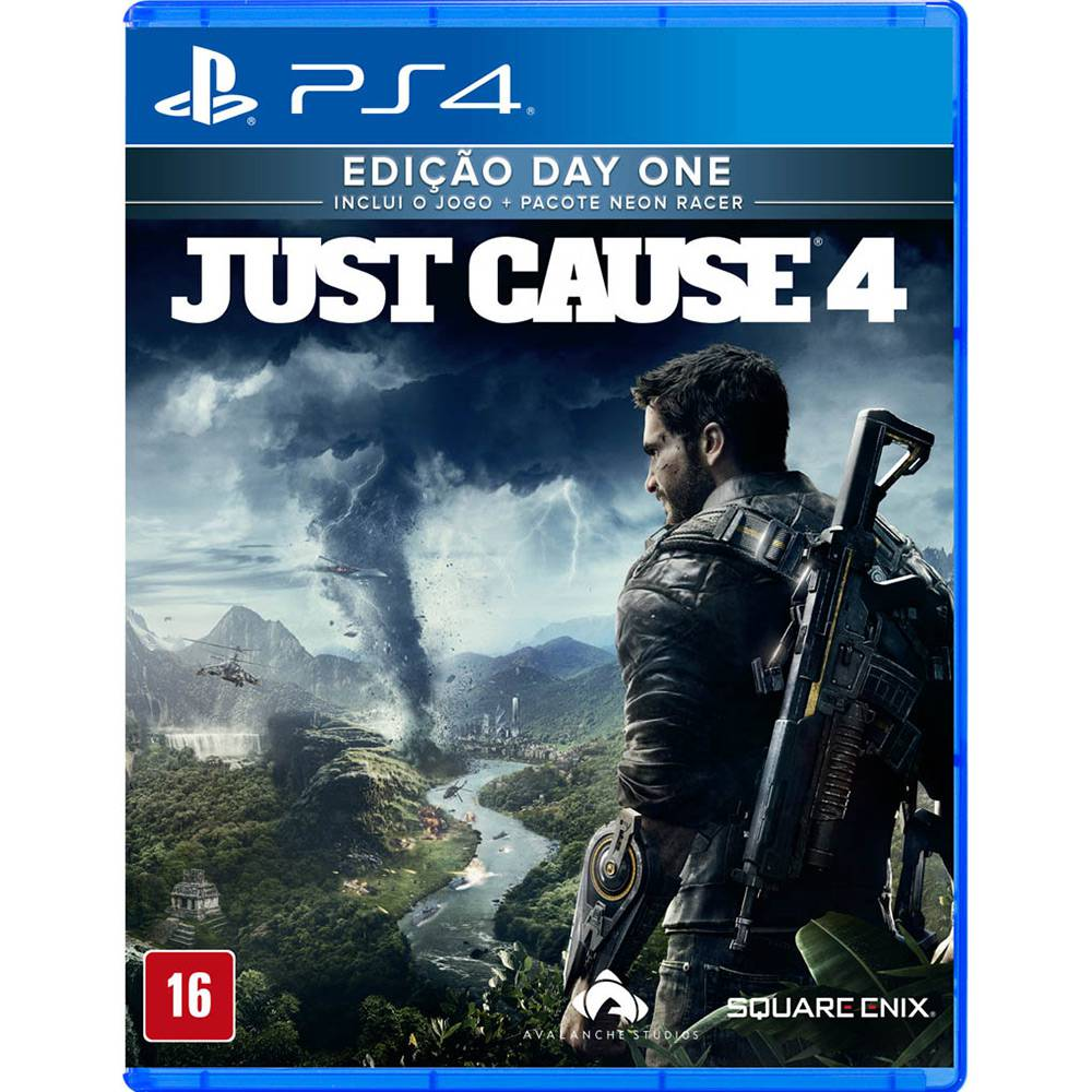 Just Cause 4 Edicao Day One PS4