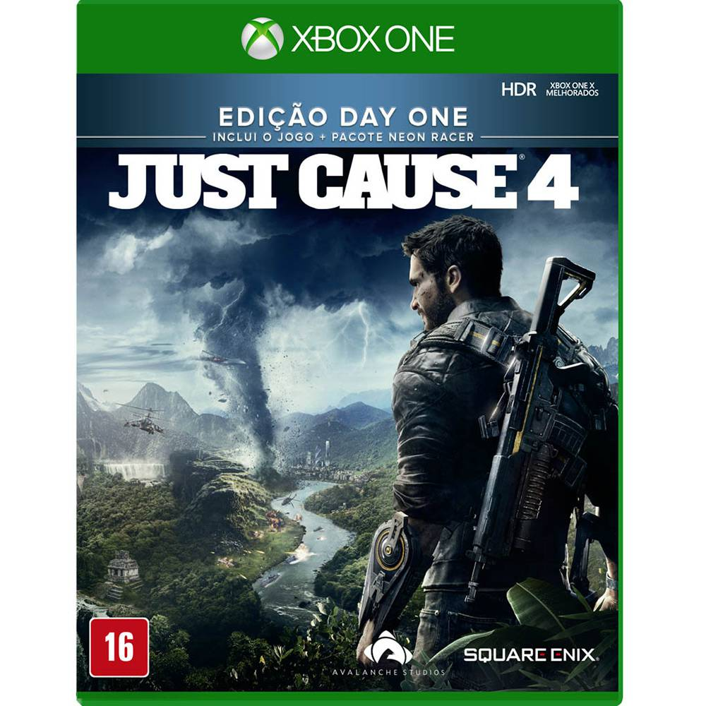 Just Cause 4 Edicao Day One Xbox One