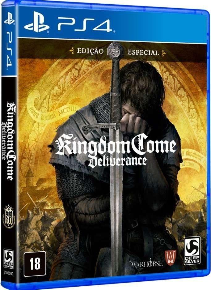 Kingdom Come Deliverance Edição Especial - PS4