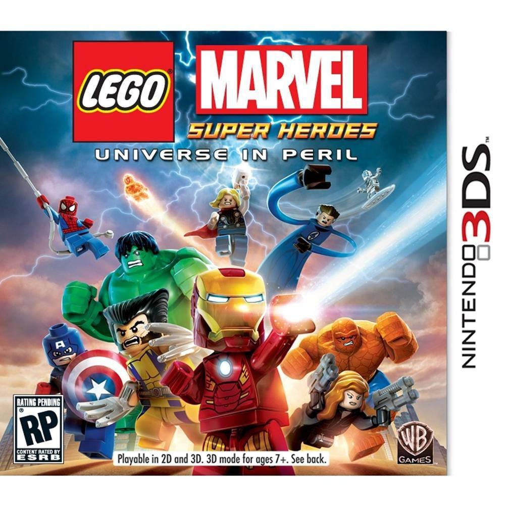 Lego marvel super heroes - nintendo 3ds