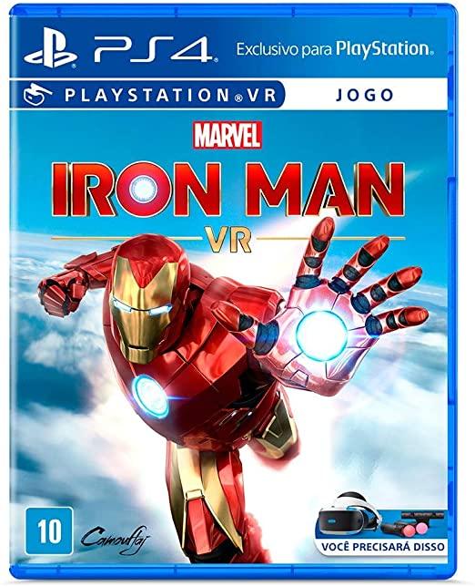 Marvel's iron man playstation vr