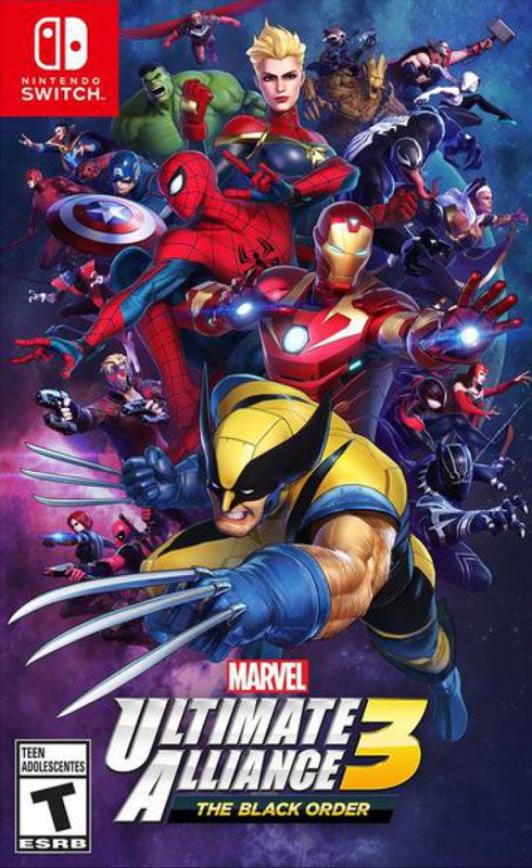 Marvel ultimante alliance 3 the back switch