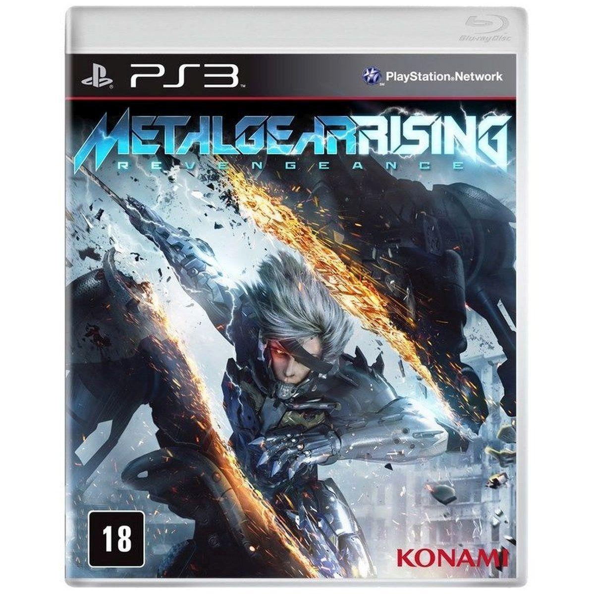 Metalgear rising revengeance ps3