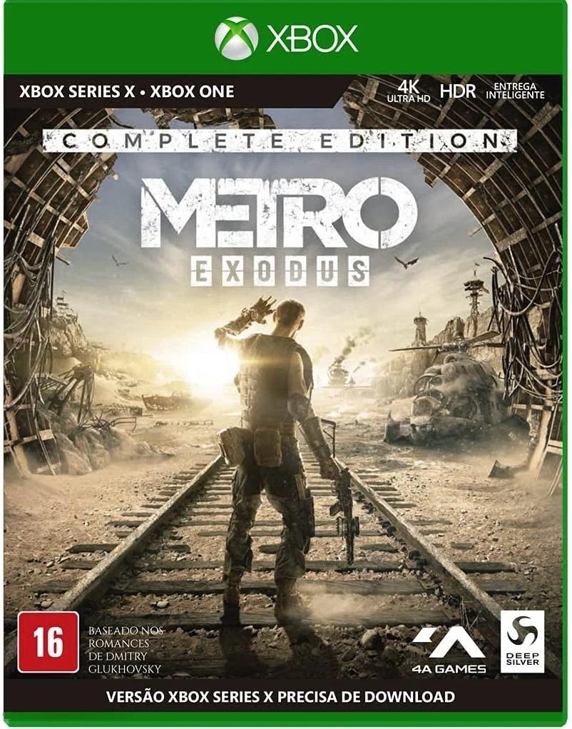 Metro exodus - complete edition - xbox series s/x