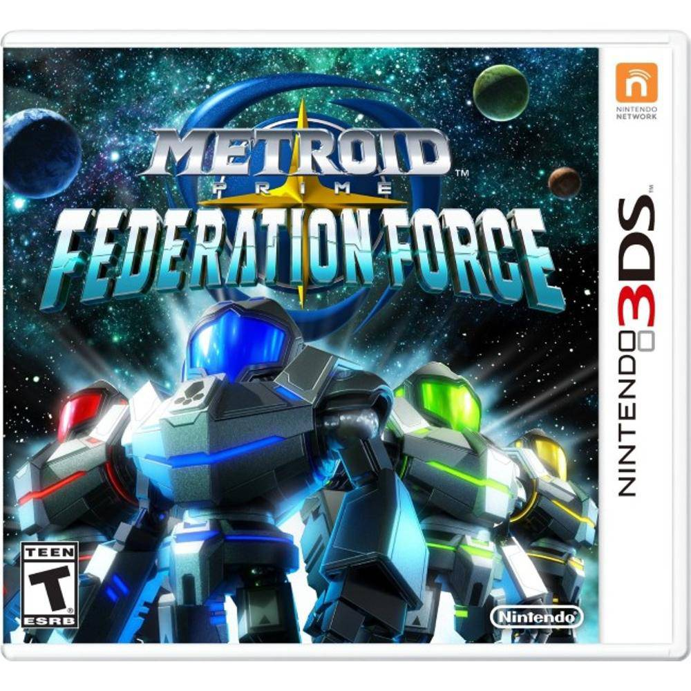 Metroid prime federation force - nintendo 3ds