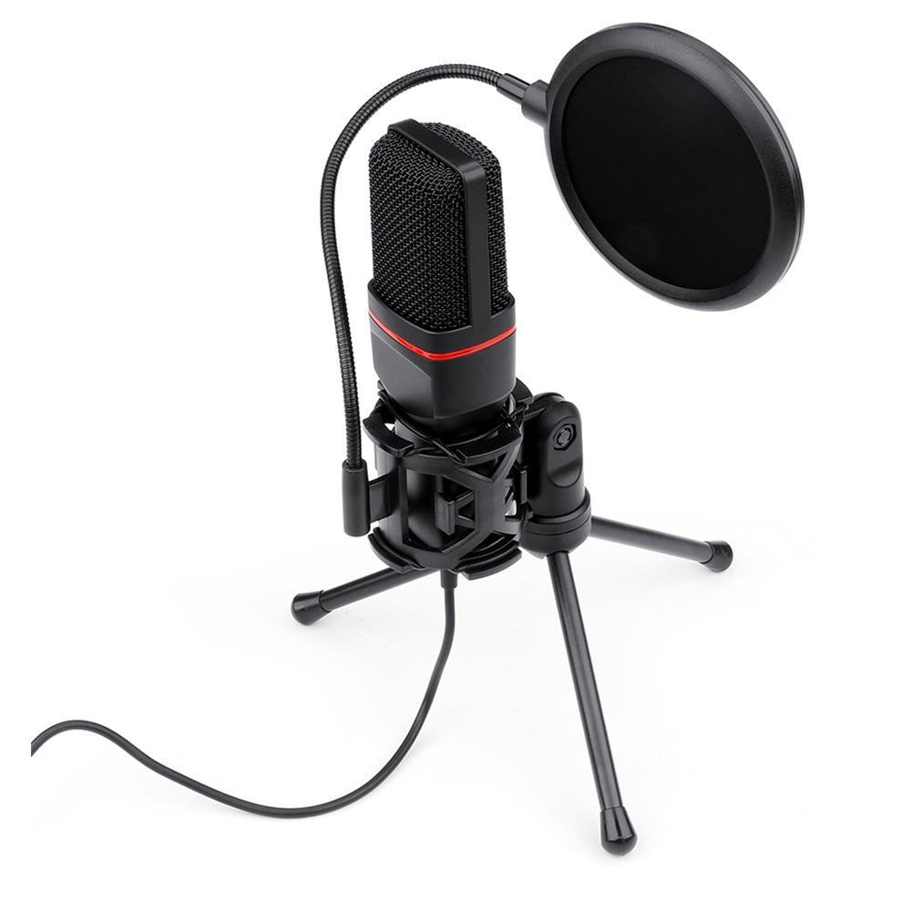 Microfone Streamer Gamer Redragon Seyfert GM100, P2 - GM100