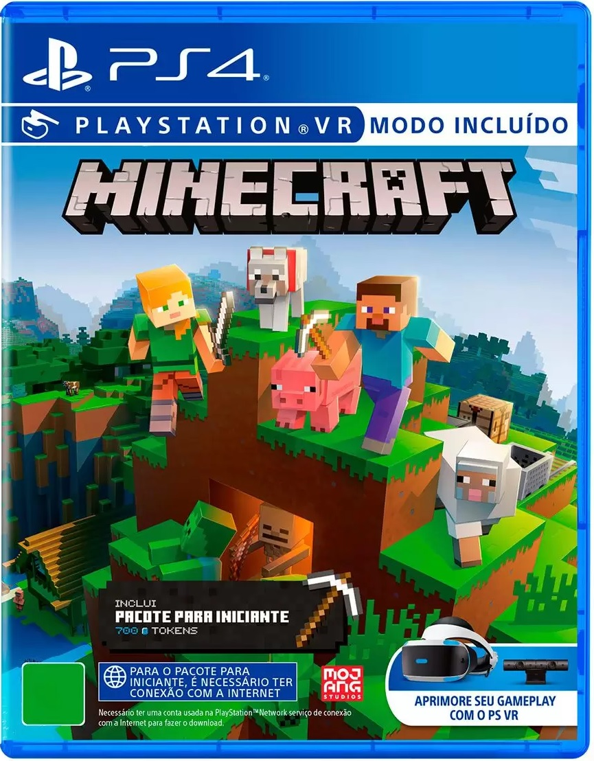 Minecraft Starter Collection - Playstation VR - PS4