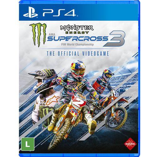 Monster energy supercross 3 - ps4