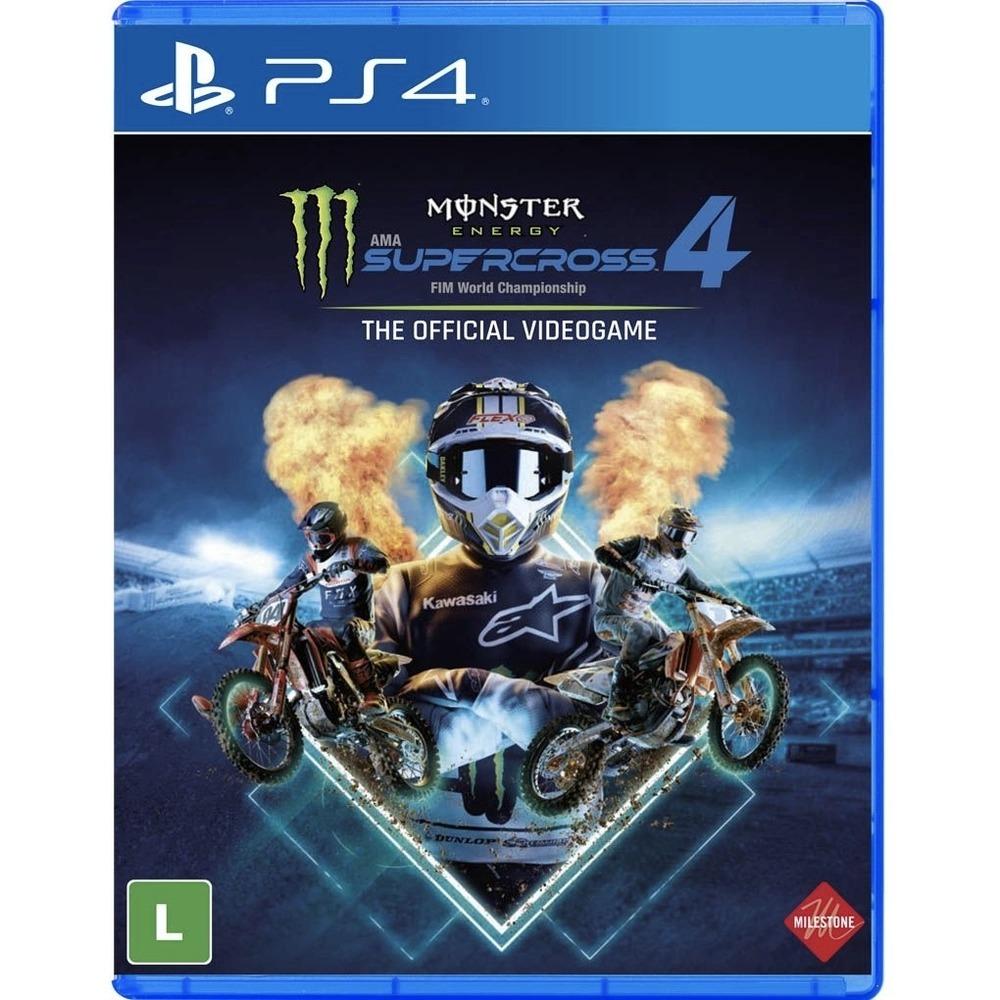 Monster Energy  Supercross 4 - PS4
