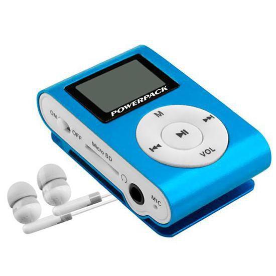 Mp3 powerpack mptf-l18 m16gb azul