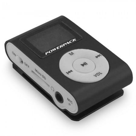 Mp3 powerpack mptf-l18 memoria 16gb preto