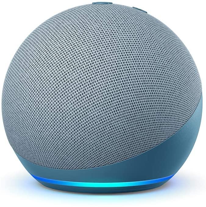 Novo Echo Dot (4ª Geração): Controle sua casa inteligente com Alexa - Cor Azul