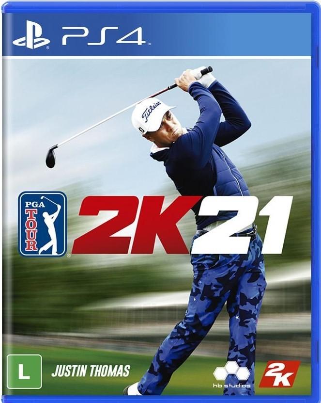 PGA tour 2k21- ps4