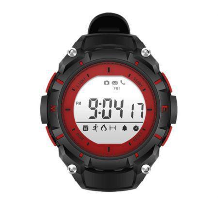 Relogio smartwatch dzb preto/vermelho