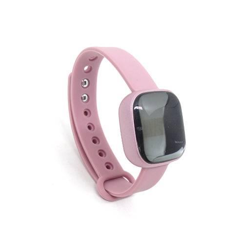 Relogio smartwatch mini m-8 rosa