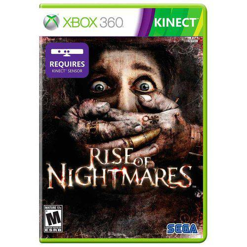 Rise of nightmares - xbox 360 kinect