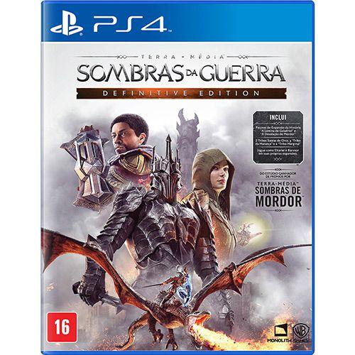 Sombras da guerra - definitive edition - ps4