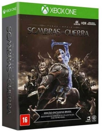 SOMBRAS DA GUERRA EDIÇÃO LIMITADA - XBOX ONE