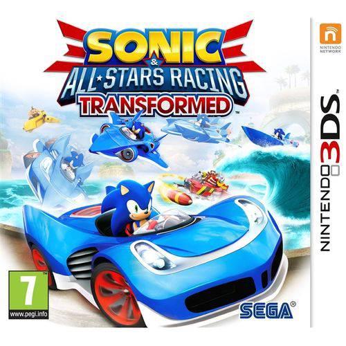 Sonic all stars racing transformed - nintendo 3ds