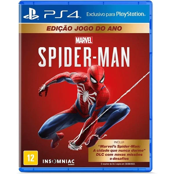 Spider man game of the year - ps4
